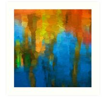 Color Abstraction XXXI Art Print