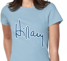 Hillary Autograph Womens Fitted T-Shirt