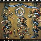 Mosaic from Hadrian's Villas, Vatican Museum Rome Italy 19840718 0053 by Fred Mitchell