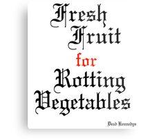 Dead Kennedys Fresh Fruit for Rotting Vegetables Metal Print
