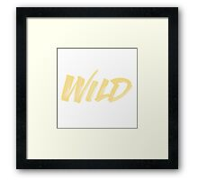 WILD - Troye Sivan Framed Print