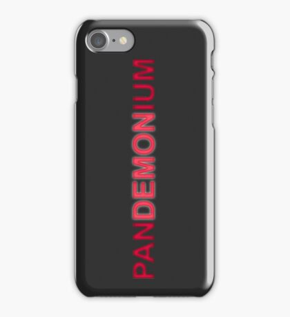 Pandemonium Entrance Sign iPhone Case/Skin