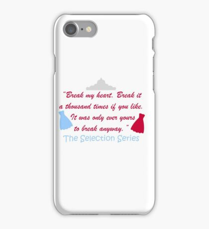 The Selection Series iPhone Case/Skin