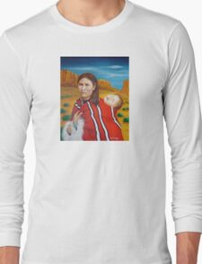 Navajo Woman with Child Long Sleeve T-Shirt