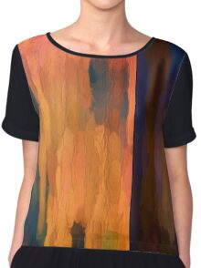 Color Abstraction LIII Chiffon Top