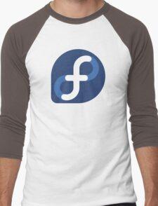 Fedora Logo Men's Baseball ¾ T-Shirt