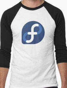 Fedora Logo Men's Baseball ¾ T-Shirt