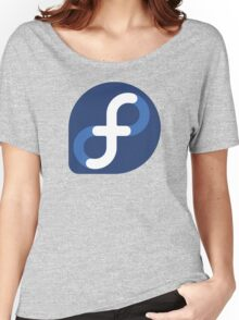 Fedora Logo Women's Relaxed Fit T-Shirt