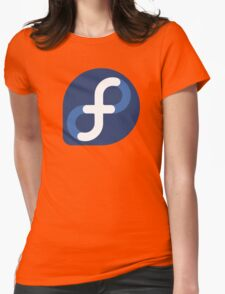 Fedora Logo Womens Fitted T-Shirt