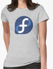 Fedora Logo Womens Fitted T-Shirt
