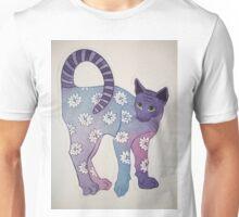 Floral Feline......! Unisex T-Shirt