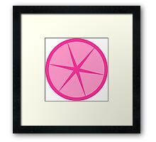 Pink Lemonade cute fun design Framed Print