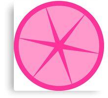 Pink Lemonade cute fun design Canvas Print