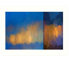 Color Abstraction LV Art Print