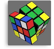 Rubik,s Cube  Canvas Print