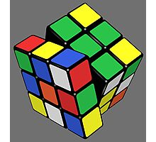 Rubik,s Cube  Photographic Print