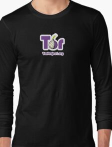 TOR Logo  Long Sleeve T-Shirt