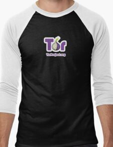 TOR Logo  Men's Baseball ¾ T-Shirt