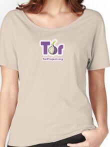 TOR Logo  Women's Relaxed Fit T-Shirt