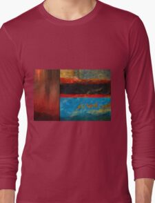 Color Abstraction LXI Long Sleeve T-Shirt