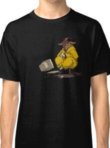 Meditating GNU Playing a Flute Classic T-Shirt