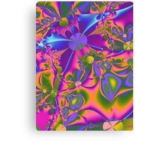 Psychedelic Gardening Canvas Print