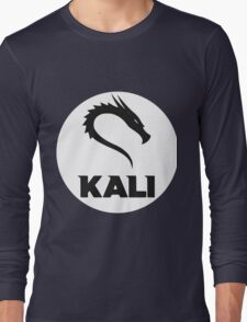 Kali GNU + Linux Logo Long Sleeve T-Shirt