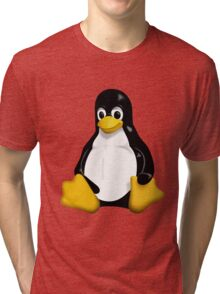 Tux - The Linux Penguin Tri-blend T-Shirt