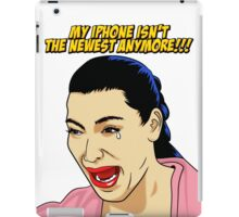 Kim Kardashian crying  iPad Case/Skin