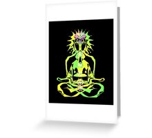 Digital Yogi - 11 (2008) Greeting Card