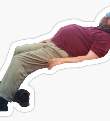 Sleepy stallman Sticker