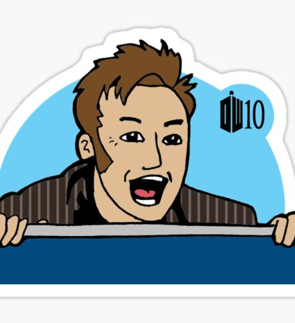 Doctor Who 10 Sticker