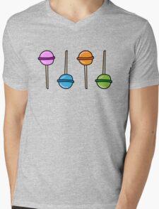 Lollipops Mens V-Neck T-Shirt
