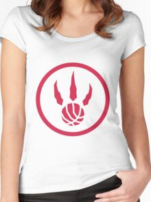 Raptors Women's Fitted Scoop T-Shirt