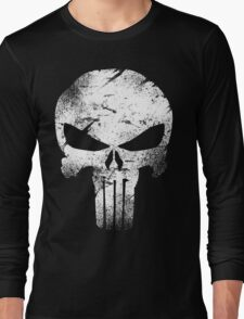 white skull movie Long Sleeve T-Shirt