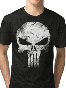 white skull movie Tri-blend T-Shirt