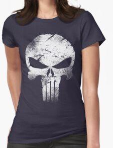 white skull movie Womens Fitted T-Shirt