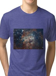 Deep Space Nebula Galaxy Tri-blend T-Shirt