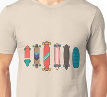 Longboard collection Unisex T-Shirt