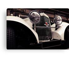 Aston Martin 1939 Canvas Print