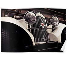 Aston Martin 1939 Poster