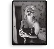 Marylin Monroe by Ed Feingersh, 1955 Canvas Print