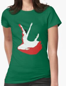 Dancer No. 3 Womens Fitted T-Shirt