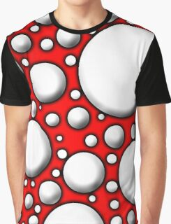 Red Mushroom  Graphic T-Shirt
