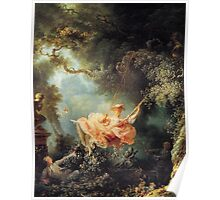 The Swing - Jean-Honoré Fragonard Poster