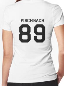 fischbach 89 Women's Fitted V-Neck T-Shirt