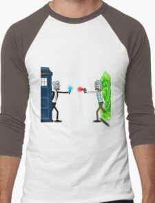 RICKTIONS IN TIME AND SPACE Men's Baseball ¾ T-Shirt