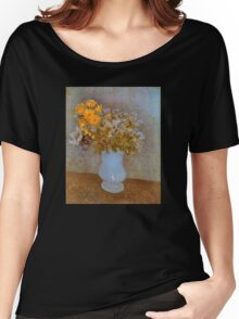 'Lilacs' by Vincent Van Gogh (Reproduction) Women's Relaxed Fit T-Shirt