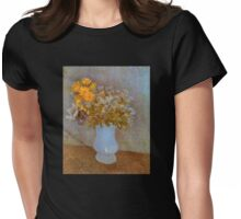 'Lilacs' by Vincent Van Gogh (Reproduction) Womens Fitted T-Shirt