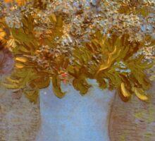 'Lilacs' by Vincent Van Gogh (Reproduction) Sticker